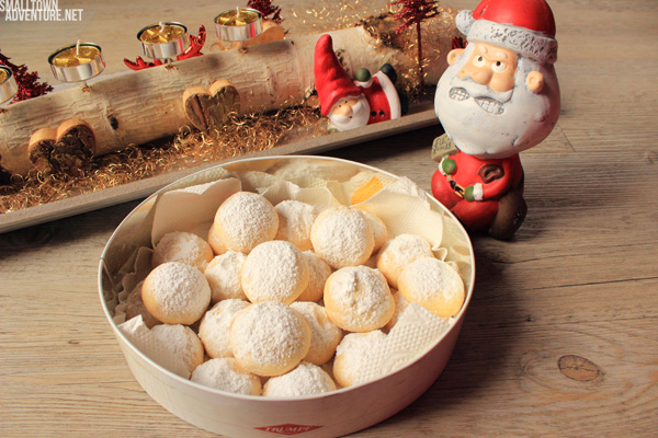 Kekse mit Schokokern Weihnachten Plätzchen