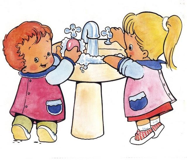 Las pitufas la higiene en educaci n infantil for Sugerencias para hacer de comer