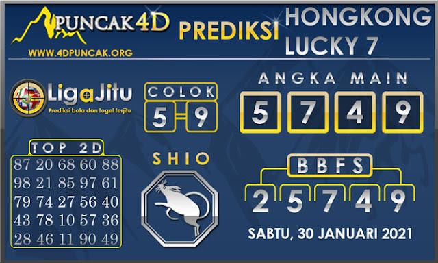 PREDIKSI TOGEL HONGKONG LUCKY 7 PUNCAK4D 30 JANUARI 2021