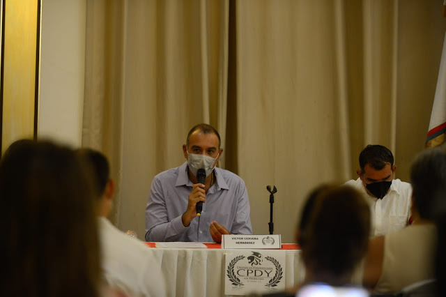 Hay que involucrar a la sociedad en la toma de decisiones del municipio: Víctor Cervera