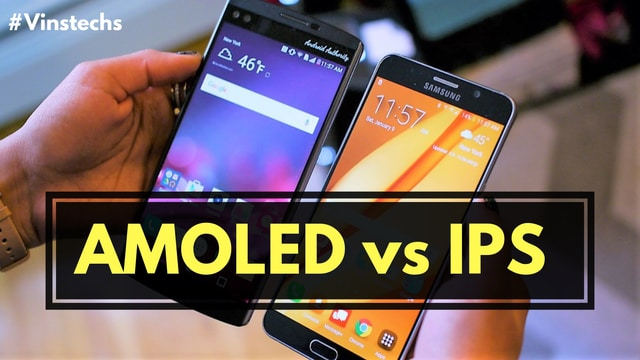 Ips vs Amoled display