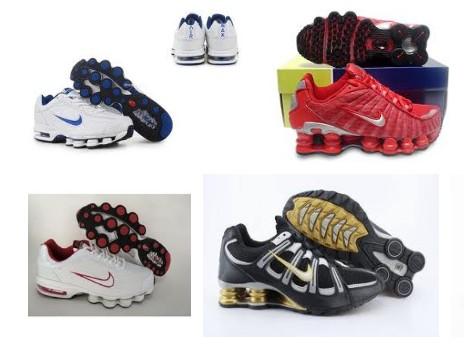 Womens Nike Shox TL1 Shoe Orange Sale Online