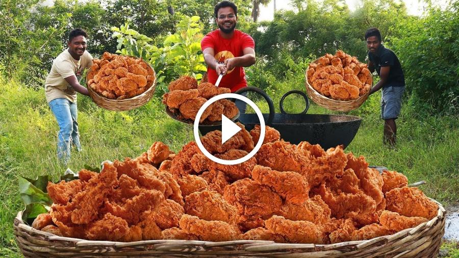 KFC Style Fried Chicken | Crispy Spicy Fried Chicken by Grandpa Kitchen