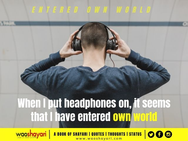 headphone love quotes