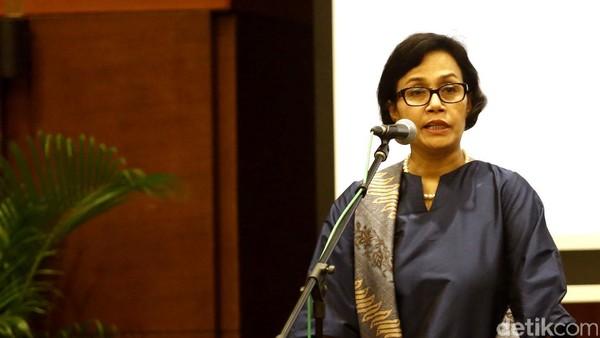 Respons Sri Mulyani Soal RI Tinggal Sejengkal Lagi Resesi