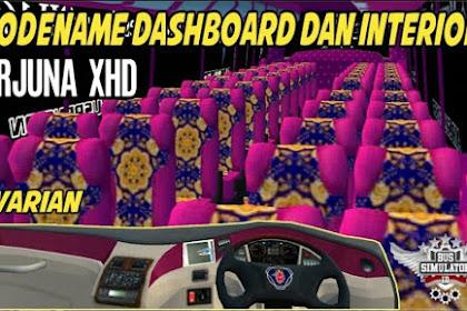 Kode Name Dashboard Dan Interior Bus XHD BUSSID 3.5