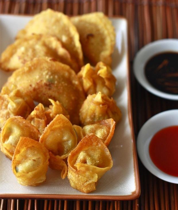 Crispy Fried Wontons recipe by SeasonWithSpice.com
