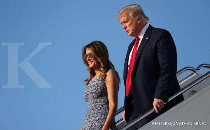 BREAKING NEWS: Donald Trump dan Melania positif Covid-19