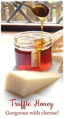 truffle honey with cheese