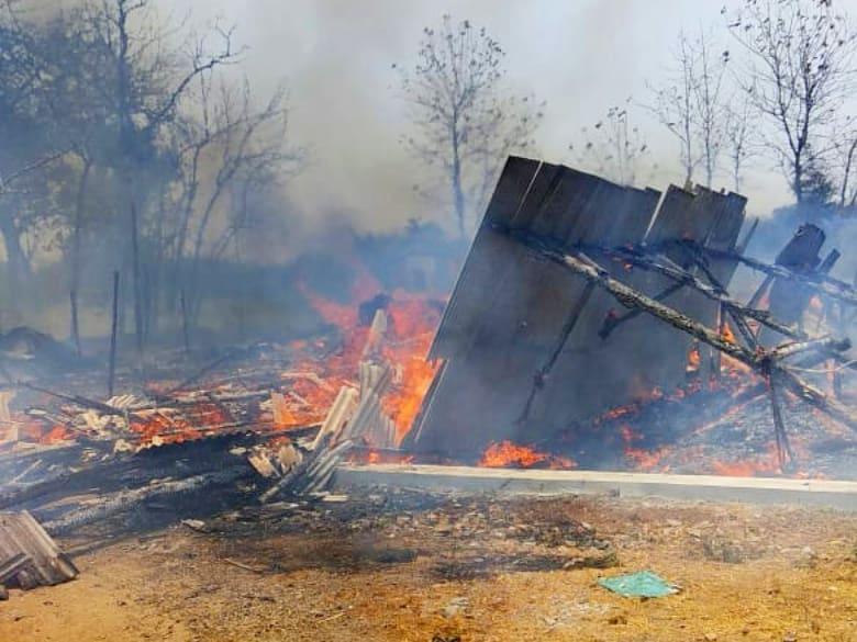 8000 Ayam Terpanggang, Akibat Dua Kandang Terbakar di Wedarijaksa