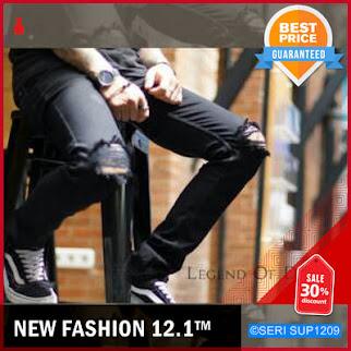 SUP1209P16 Plain Black Pekat Long Pants Jeans BMGShop