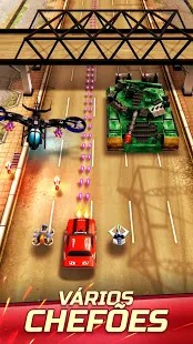 Chaos Road: Racing and battle apk mod
