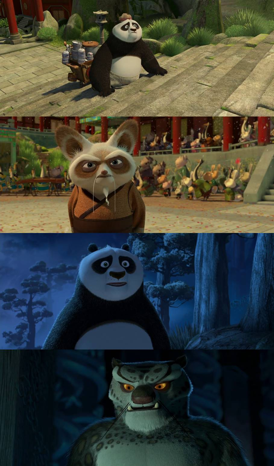 Kung Fu Panda 2008 Dual Audio Hindi 480p BluRay 300MB Desirehub