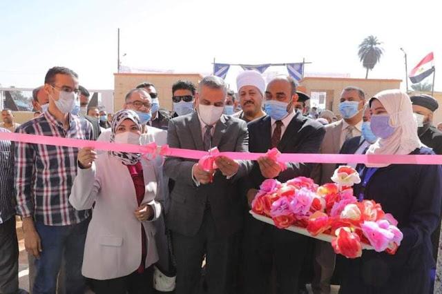 محافظ سوهاج يفتتح وحدة الغسيل الكلوي بقرية الشيخ مرزوق
