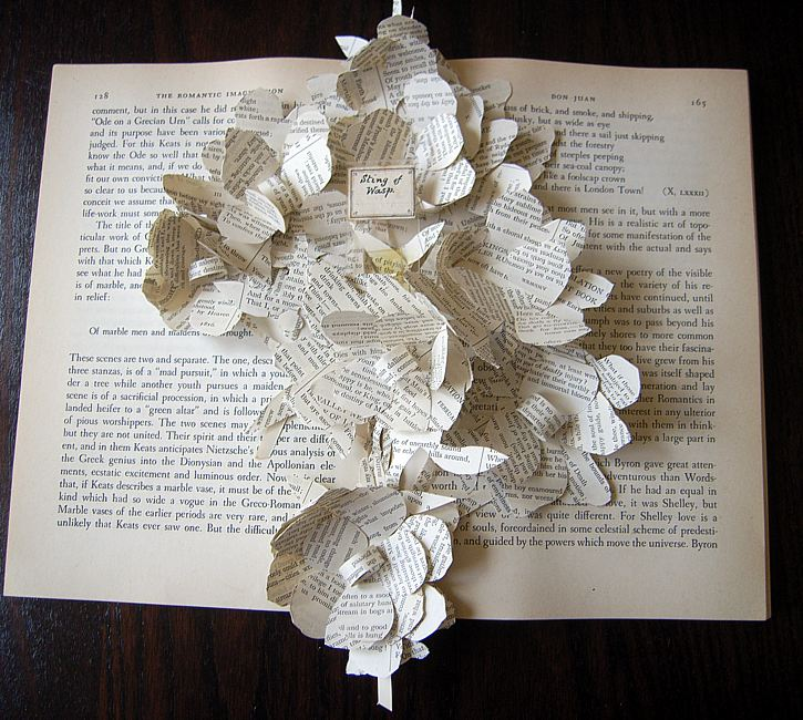 books altered project imagination sarah sculpture sculptures craft bodman modern deconstructing country paper unleashed romantic inspiration flower projects deconstructed flowers
