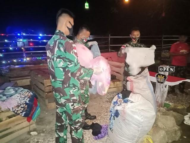 Personel Pos Damar Kembali Amankan BB Selundupan di Wilayah Perbatasan RI-RDTL.