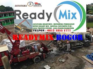 HARGA READY MIX BOGOR MURAH
