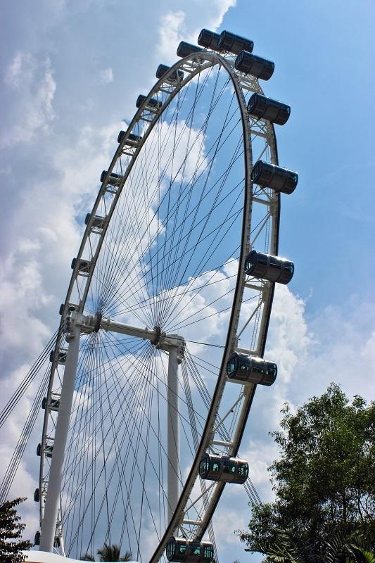 Singapore; Singapore flyer
