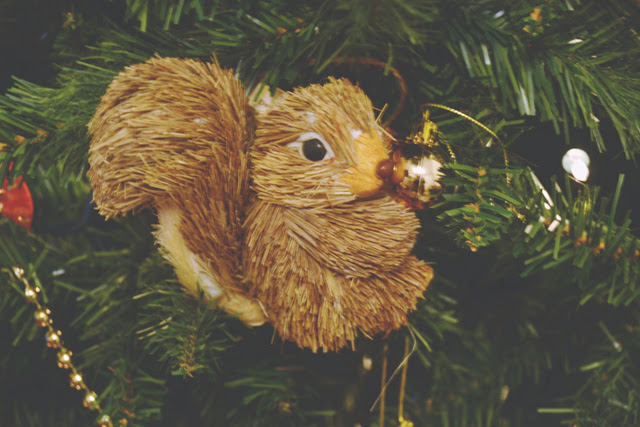 Squirrel Christmas Tree decoration