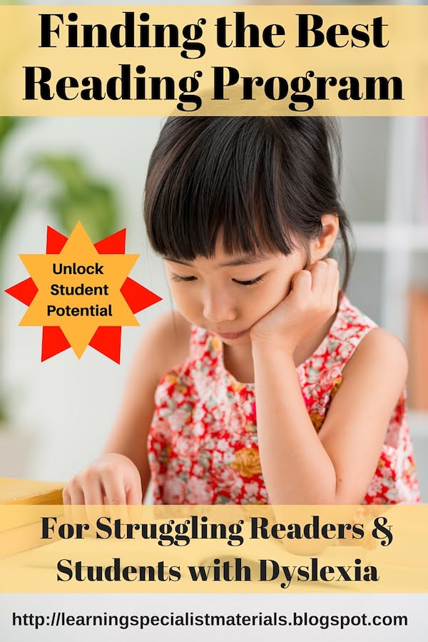 best reading programs for dyslexic students