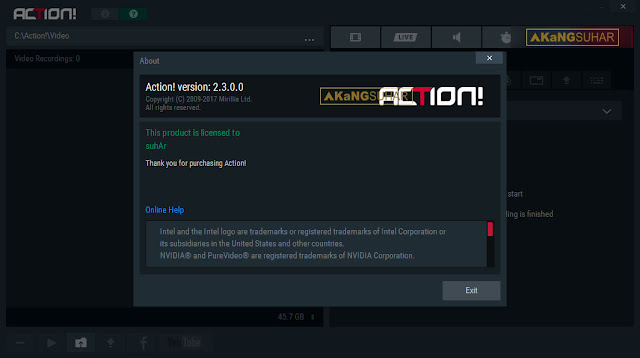 Download Mirillis Action 2.3.0 Full Version Terbaru