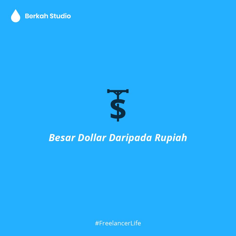 Peribahasa Freelance Designer