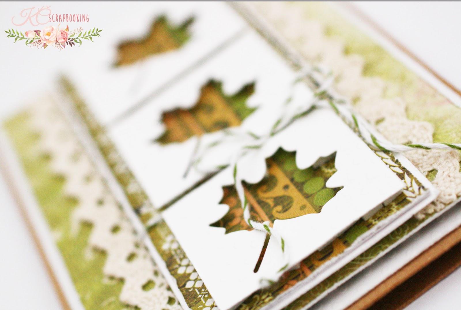 DIY Jesenná pohľadnica - KČ scrapbooking 53c78023ffb