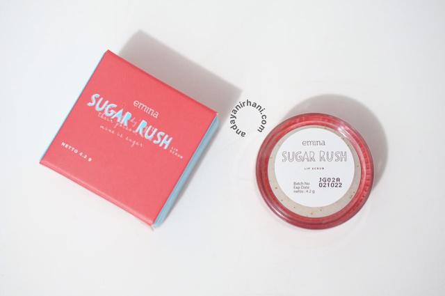 review scrub lip emina