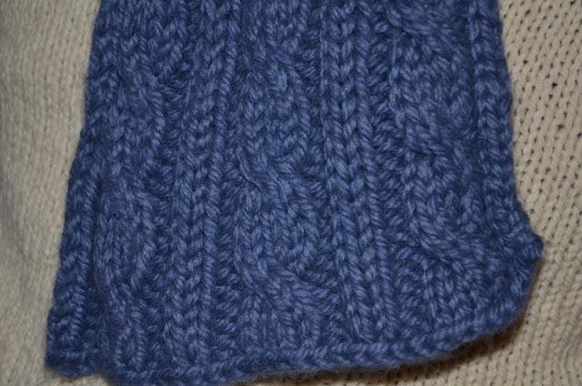 Comment tricoter une jolie écharpe d hiver pour homme   - Des Tricots Tres  Mimie 685e18c262a