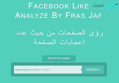 موقع يعرفك البلد الأكثر متابعة لصفحتك على الفيس بوك مع عدد الإعجابات
