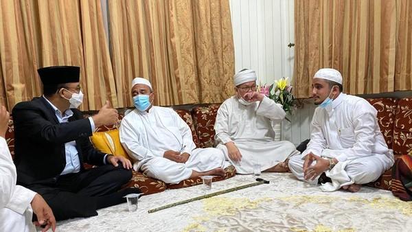 Gubernur DKI Anies Baswedan Temui Habib Rizieq Semalam