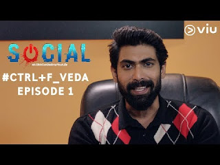 Rana Daggubati Social Episode 1,Hindi Digital Show,Viu India,Rana Social Show,Rana Digital Show,Rana Social Full Episodes