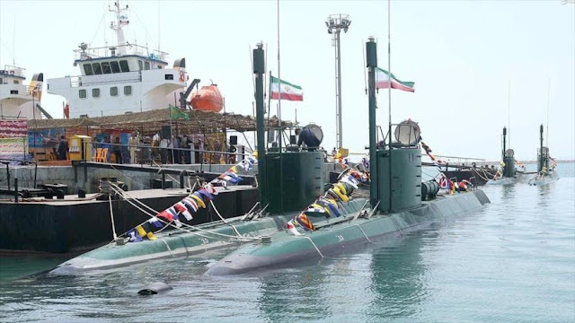 Submarino nacional 'Fateh' se incorporará a flota naval de Irán