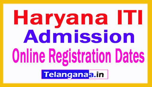 Haryana ITI Admission Registration 2018 Online Apply