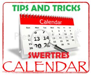 Swertres Hearing: Swertres Calendar Guide May 26 2019