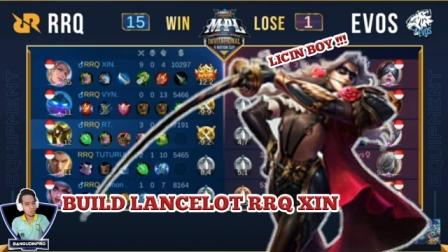 Build lancelot RRQ Xin Tersakit