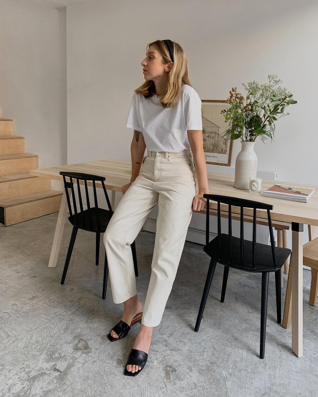 The Best Off-White Jeans — @brittanybathgate spring outfit inspiration