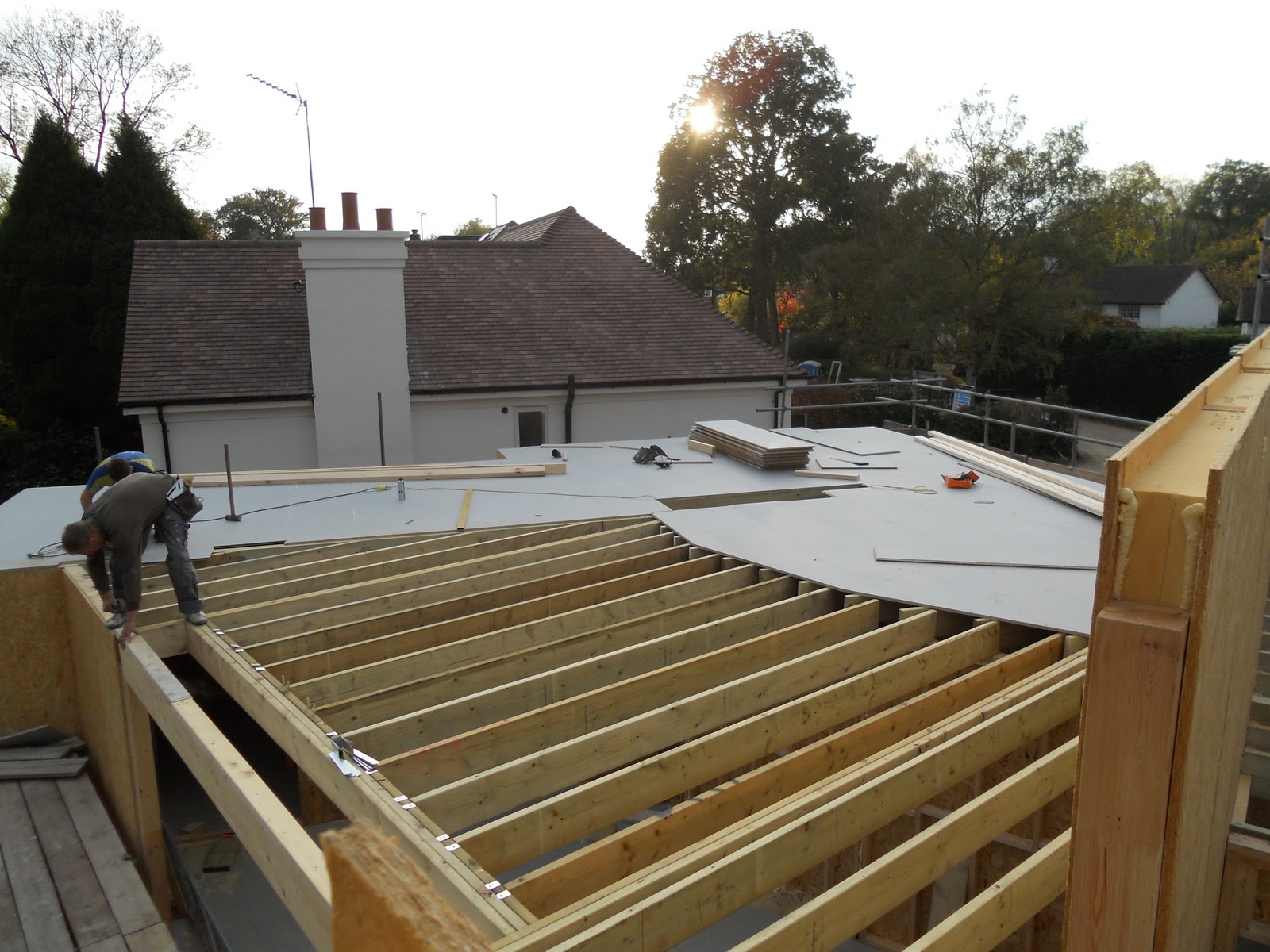 Modern House Build In Surrey Day 125 Finishing Off The