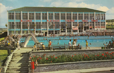 Butlin's Outdoor Pool and Playhouse Theatre, Barry Island. PT28469. Photo Precision Limited. Posted. Date unknown
