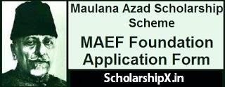 Maulana Azad Scholarship for Minority Girls Students 2020-21