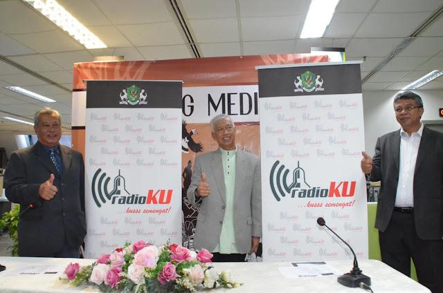 DBKU Lancar Radio PBT Pertama Di Sarawak