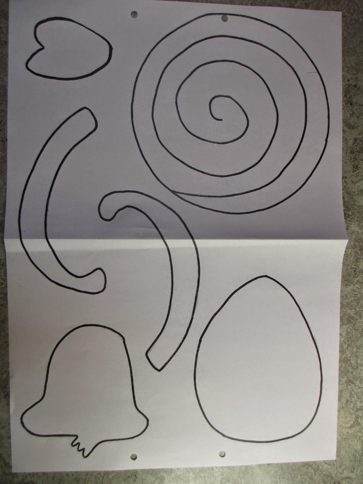 Märlimuus: Affe basteln aus Papier