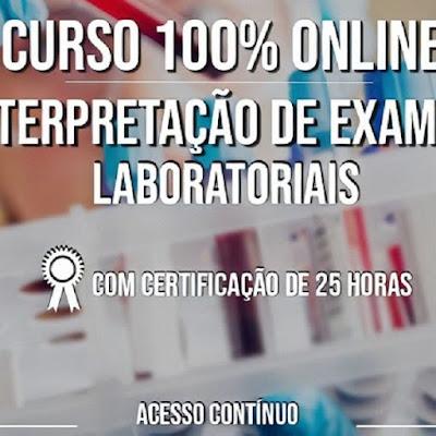 Curso Online de Enfermagem em Interpretação de Exames Laboratoriais