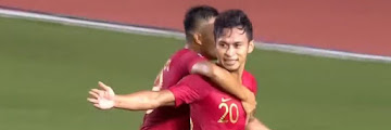 Indonesia Men's Football Team Beat Thailand's 2-0 in SEA Games 2019