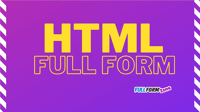 HTML Full Form in Hindi