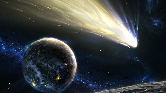 An enormous 'mega comet' is flying into our solar system