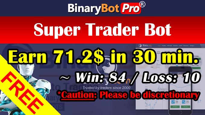 Super Trader Bot (12-Jan-2021)   Binary Bot   Free Download
