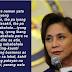 "Int'l trade expert took a swipe on Robredo's ""shameful"" remark: Nagkakalat ng pekeng balita ang pekeng opisyal"