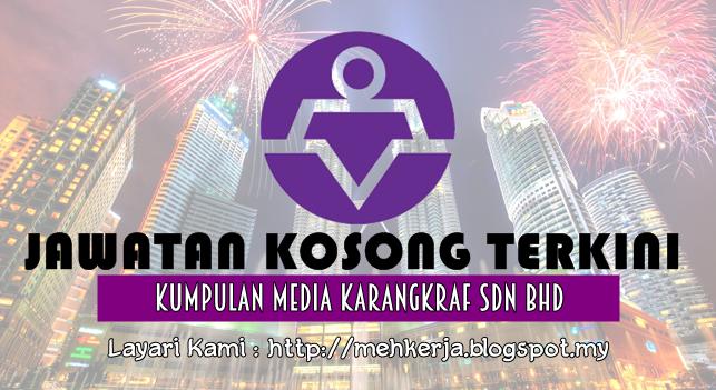 Jawatan Kosong Terkini 2016 di Kumpulan Media Karangkraf Sdn Bhd