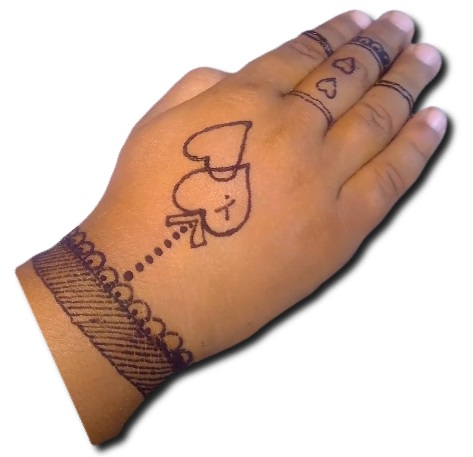 Easy Mehndi for Kids
